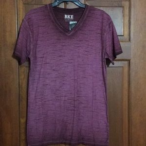 BKE V-neck size Medium Shirt Short Sleeve NWT